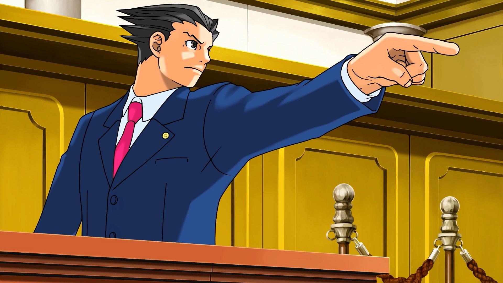Что за серия Ace Attorney и откуда по ней столько мемов?