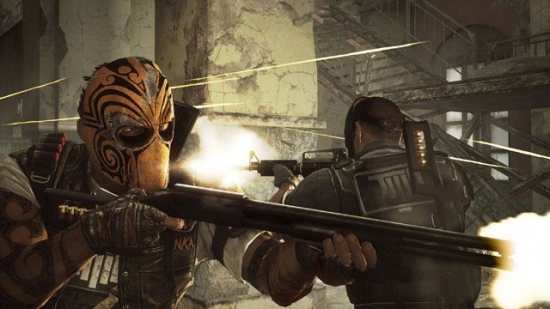 Маски в Мексике. Army of Two: The Devil's Cartel