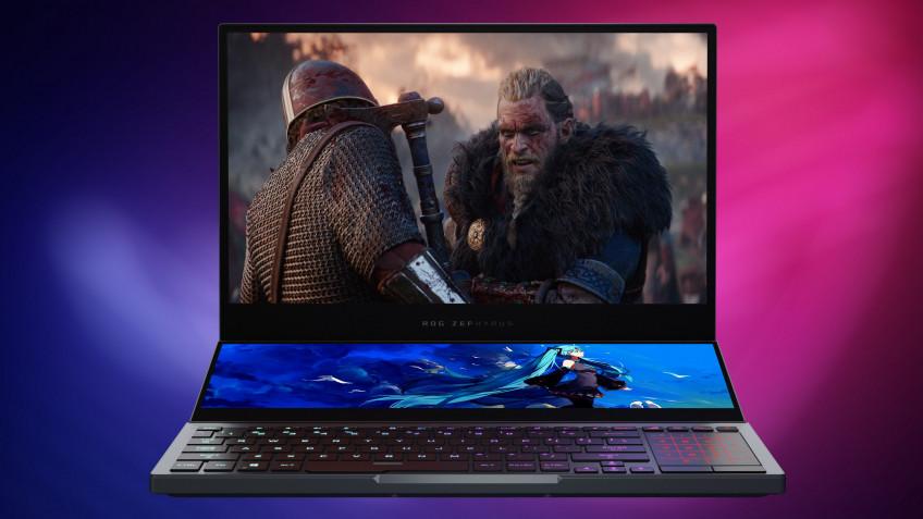 Зачем ноутбуку два дисплея? ASUS ROG Zephyrus DUO 15 GX550