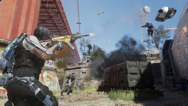 Call of Duty: Advanced Warfare — мультиплеер