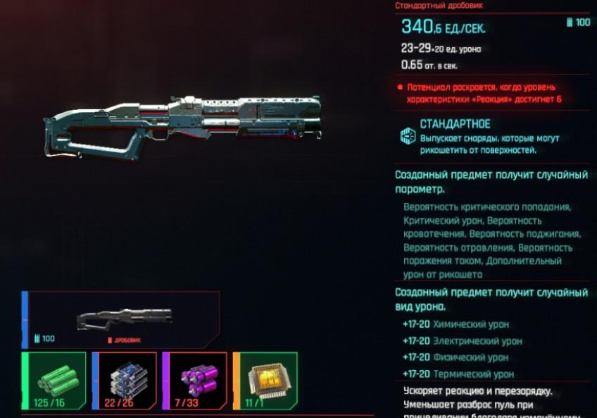 Гайд: Лучшее оружие в Cyberpunk 2077