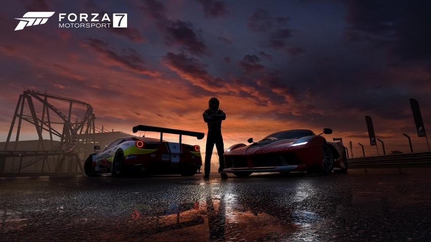 Предварительный обзор Forza Motorsport 7. Дождь реалистичнее некуда