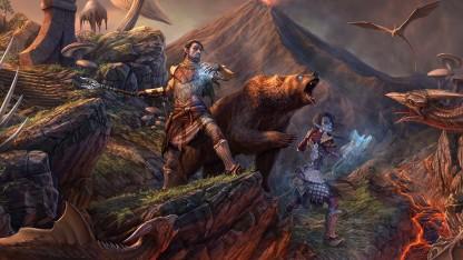 Предварительный обзор The Elder Scrolls Online: Morrowind. С медведем на блохе
