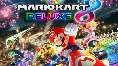 Обзор Mario Kart8 Deluxe. Быстро и слишком быстро