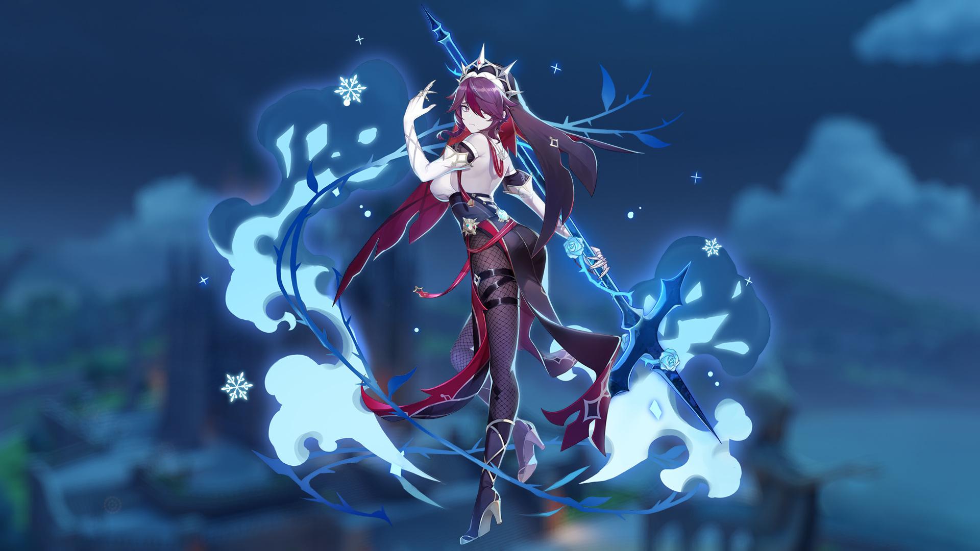 Гайд: Genshin Impact — Розария. Лучшие билды, оружие, артефакты