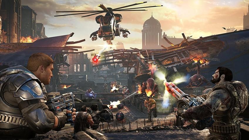 Во что поиграть + лучшие скидки недели. Gears Tactics, Cloudpunk, SnowRunner, Iratus, Sakura Wars, Streets of Rage 4