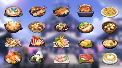 Гайд: Все рецепты Инадзумы в Genshin Impact2.0