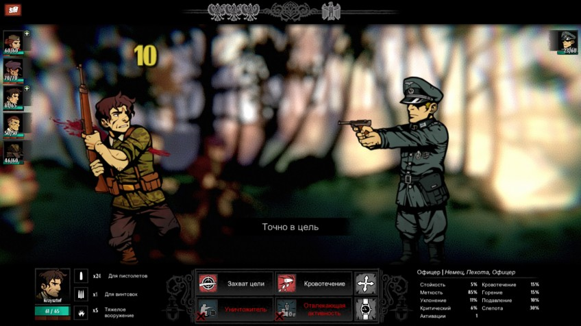 Обзор WARSAW. Darkest Dungeon по мотивам реальных событий