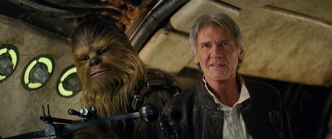 «Звездные войны: Пробуждение Силы» — Чуи, теперь мы точно дома