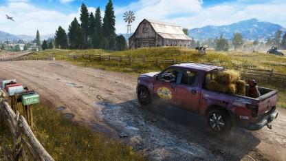 Развлечения в Far Cry5. Экстрим, рыбалка и аркадные автоматы