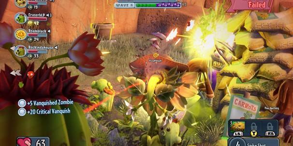 «Первый запуск». Plants vs Zombies: Garden Warfare