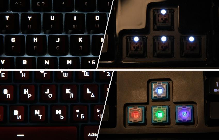 Клавиатура Logitech G513. Нестандартная механика