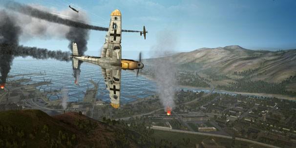 На земле, В НЕБЕ, на воде — World of Warplanes