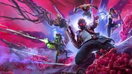 Поиграли в Marvel's Guardians of the Galaxy — бойкий сюжетный экшен про супергероев-неудачников