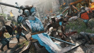 В споре рождается истина. For Honor: самурай vs викинг vs рыцарь
