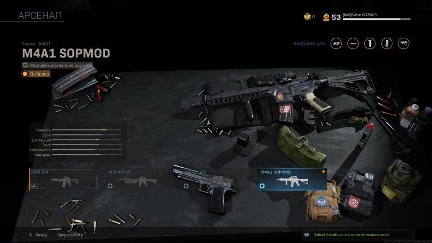 Лучшее оружие в мультиплеере Call of Duty: Modern Warfare. Гайд по прокачке