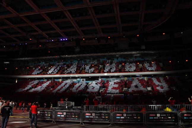 Фотоотчет: как Wargaming отмечали 70-летие великой Победы в «Олимпийском»