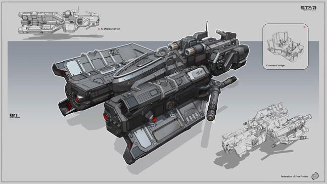 Игрострой: как делают космос в Star Conflict