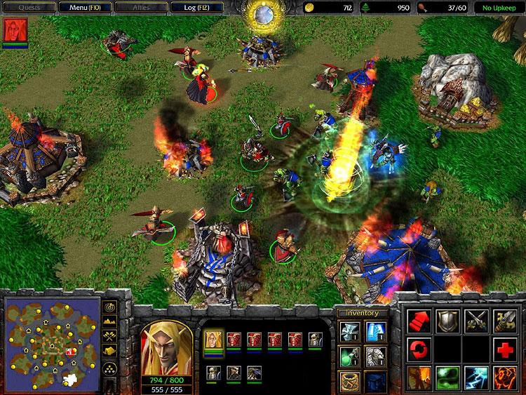 скачать карту для Warcraft 3 Frozen Throne с новыми расами - фото 3