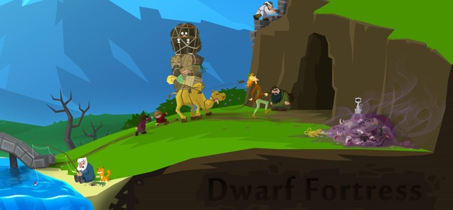 Копатель офлайн. Запоздалое превью Dwarf Fortress