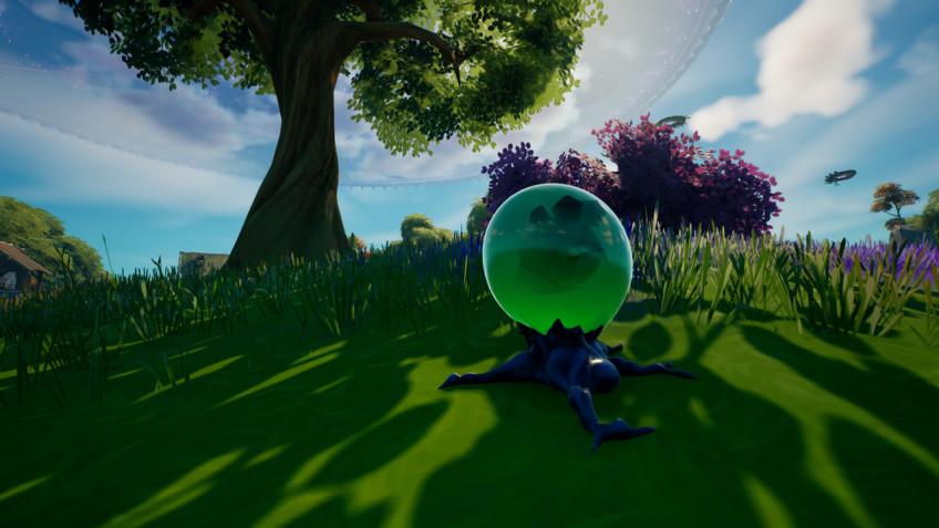 Гайд: Где найти и как пометить инопланетное яйцо в Fortnite