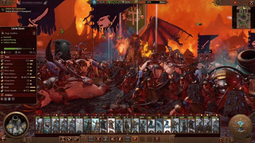 Поиграли в Total War: Warhammer III. Товарищ Медведь наносит ответный удар!