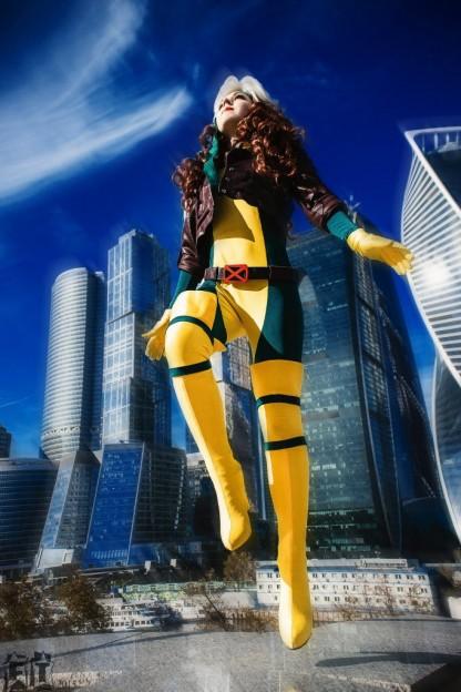 Marvel-косплей: Стражи Галактики, мисс Марвел, Шторм и Шельма