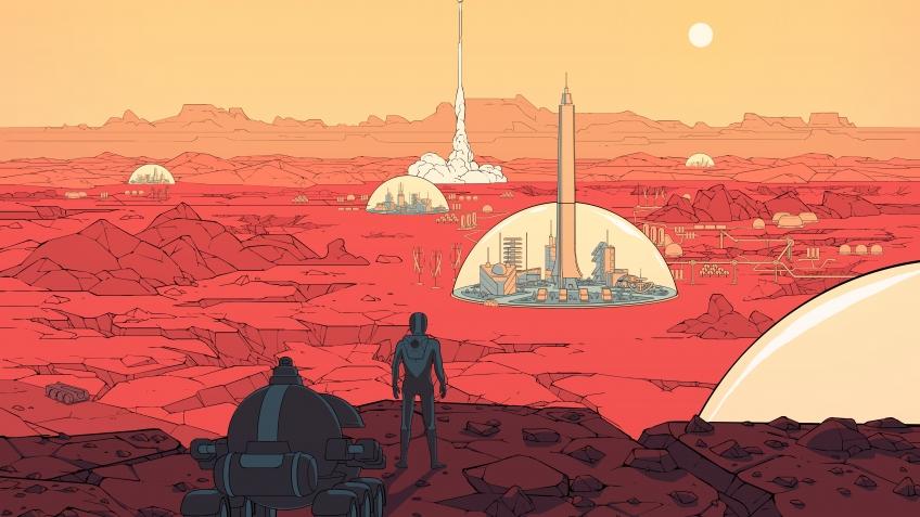 Обзор Surviving Mars. Алкоголики-веганы колонизируют Марс