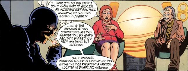 Рыцарь журналистики: призраки будущего в комиксе Transmetropolitan