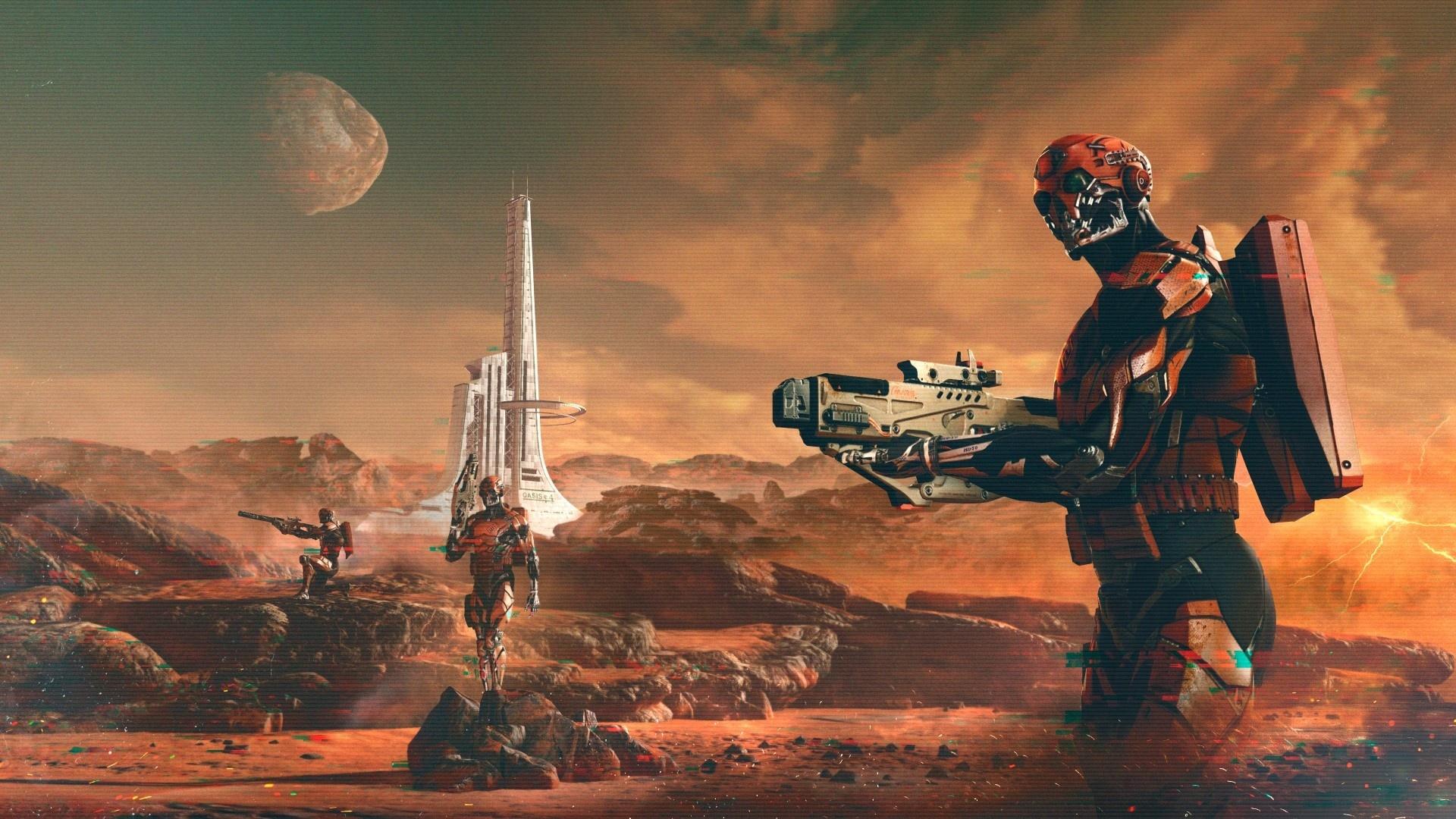 Обзор спецоперации «Марс» в Warface. Далеко ли до Красной планеты?