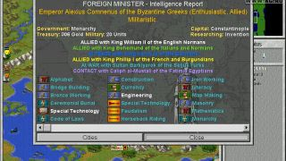 Civilization 2: Conflicts in Civilization