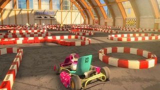 3D Go Kart Parking - eXtreme Go Karting Driving & Racing Games