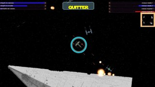 Star wars spaceship fight (itch)