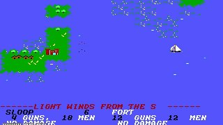 Sid Meier's Pirates! (1987)