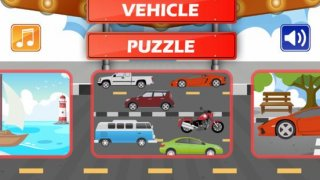 Peg Puzzle - Vehicles