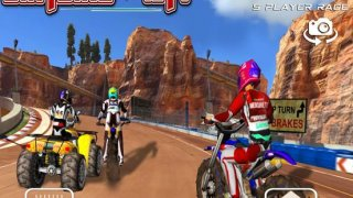 Dirt Bike Vs Atv Offroad Race