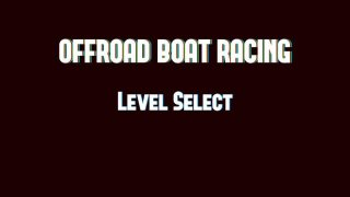 Off-Road Boat Racing (itch)
