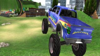 Monster Truck Driving Rally