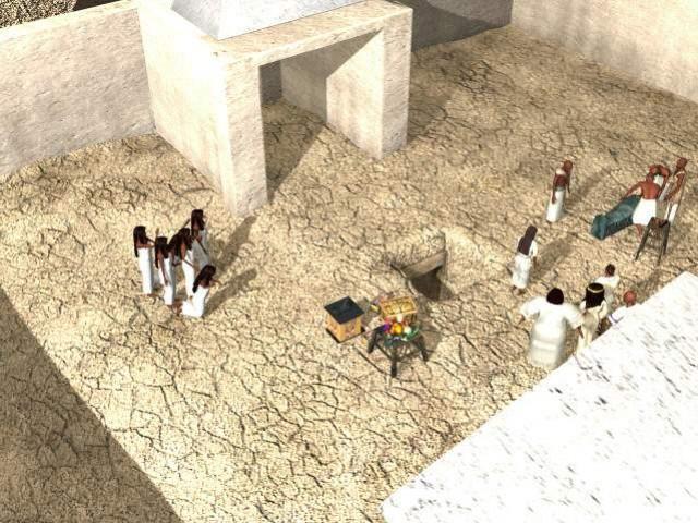 Egypt 1156 B.C. Tomb Of The Pharaon