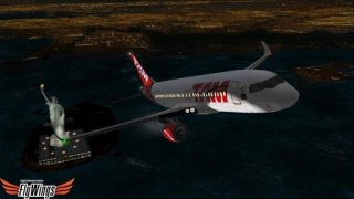 Flight Simulator Night NY HD