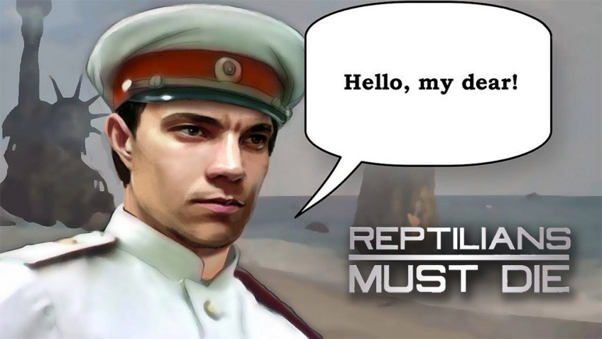 Reptilians Must Die!