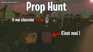 Online Multiplayer Hide and Seek - Prop Hunt (itch)