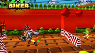 Zombie Vs Biker - Free Dirt Bike 3D Shooting Game