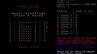 RunToTheStairs ASCII only Version (itch)
