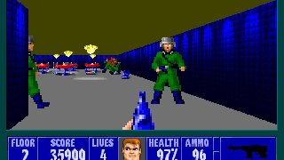 Wolfenstein 3D + Spear of Destiny