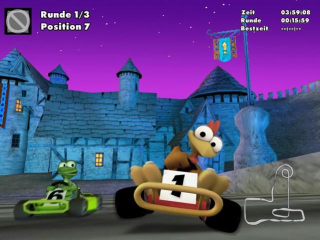 Moorhuhn: Fun Kart 2008