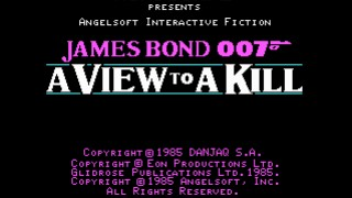 James Bond 007: A View to a Kill