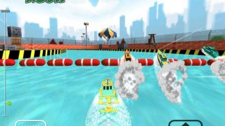 Police Boat Rush: 3D Police Boat Racing For kids