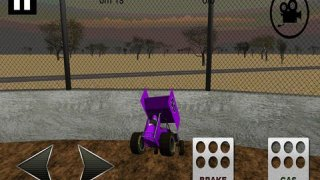 Sprint Car Dirt Track Game