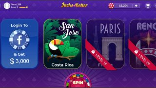 Jacks or Better Reach Vegas Video Poker Game (itch)